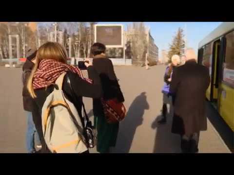 13 11 18 В Ижевске появились автобусы, снабжённые системой для инвалидов «Говорящий город»
