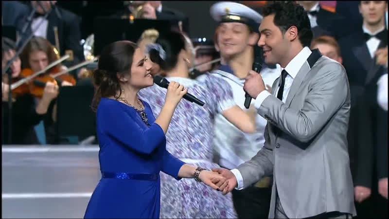 Дина Гарипова и Е Кунгуров Праздничный концерт ко Дню работника органов безопасности РФ 2014