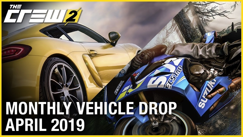 The Crew 2 April Vehicle Drop Trailer | Ubisoft [NA]