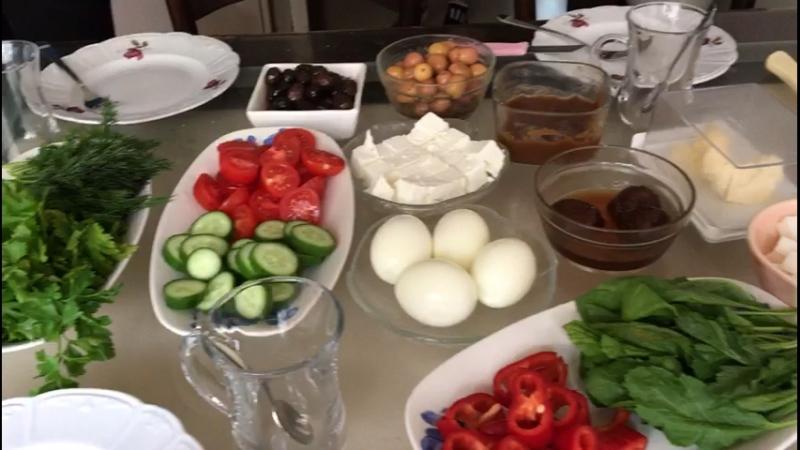 Самсун завтрак
