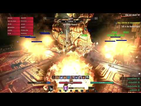 вет Halls Of Fabrication 5th boss Assembly General Execute Soulgem Guild Run
