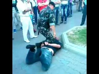 ОМОН -   задержание в центре Минска грузина