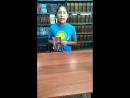 Жастар таңдайды - Молодежь предпочитает атты жобасына қатысушы Камал Аружан жастарды кітап оқуға шақырады
