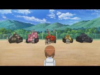 3 серия  Girls und Panzer Abridged  Девочки и Танки ПО-ДРУГОМУ