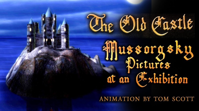 The Old Castle - Mussorgsky - Pictures at an Exhibition - Animation by Tom Scott