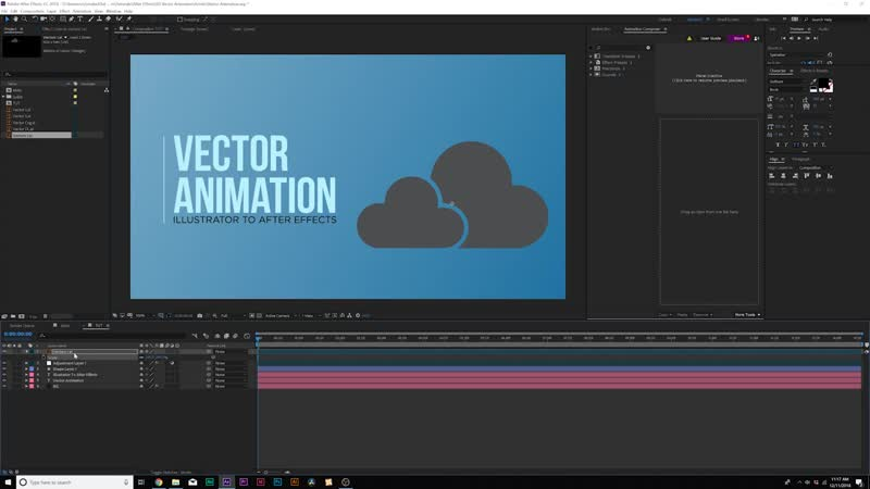 Vector Animation 101 _ After Effects To Illustrator Motion Graphics Tutorial
