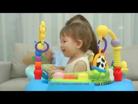 Развивающий центр Huile Toys Музыкальный стульчик 696