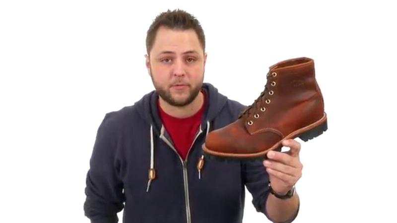 Chippewa 6 Plain Toe Lugged Boot SKU:8587301