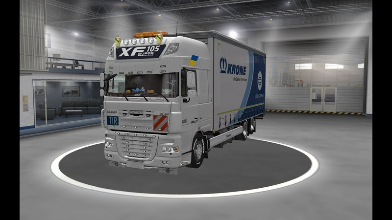 [ETS2 v1.35.] DLC Krone BDF for DAF XF 105 By Vadk