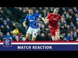 REACTION Gareth McAuley Rangers 0-1 Aberdeen