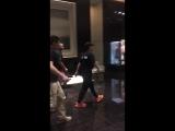 180812 fanacc Jackson at Shanghai hotel