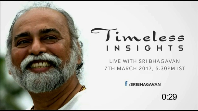 Sri Bhagavan rendere libera lumanità (Timeless Insights 732017)