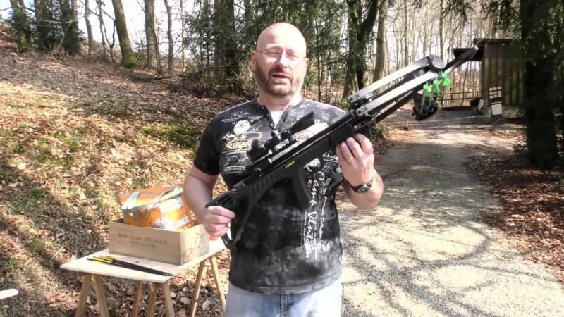Freies Schrotgewehr 138 Joule mit Bleischrot oder Bolzen... in Deutschland erlaubt!