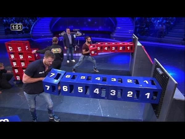 Spiel 5 - Kisten halten - Schlag den Star