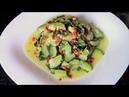Салат из кабачков по-корейски - совсем простой и очень вкусный!