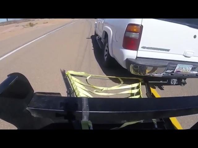 Остановка автомобиля полицией США. ГАИ не смотреть