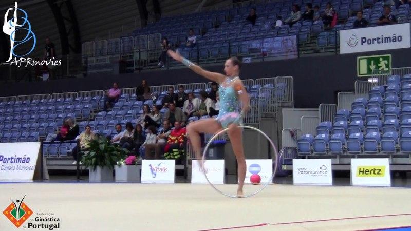 Полина Хонина - обруч (многоборье) World Challenge Cup 2018