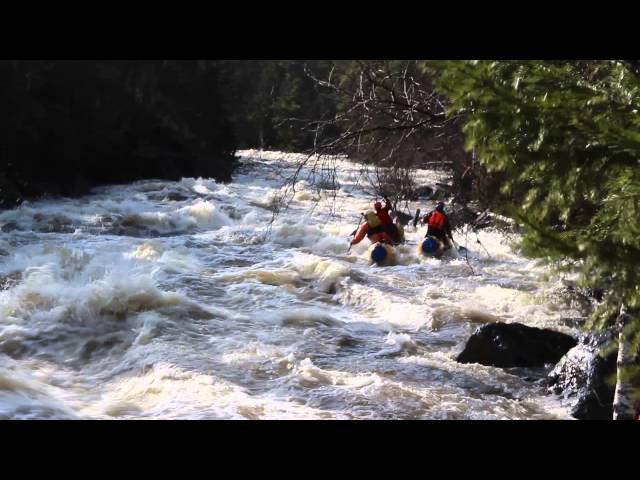 Река Березяк порог Самарский 3 мая 2015 экипаж 2