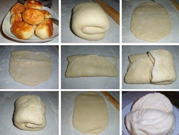 Тесто на кефире без дрожжей рецепт с пошаговый