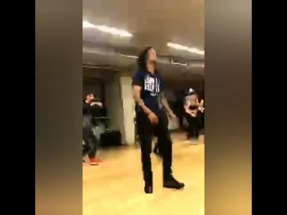 @nick_marianos IG Live ?LesTwins workshop at @nickmarianosdancefactory Athens Greece 2/15/2018