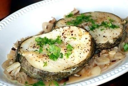 Вкусные блюда из морской рыбы рецепты