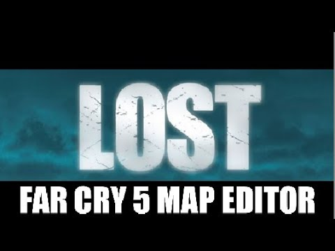 LOST (TV SERIES) Recreated Island in Far Cry 5 Map Editor!