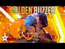 Father and Son Get GOLDEN BUZZER on Britain's Got Talent Got Talent Global
