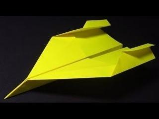 КАК СДЕЛАТЬ САМОЛЁТ ИЗ БУМАГИ, КОТОРЫЙ ДАЛЕКО ЛЕТИТ? ОРИГАМИ. Paper Planes, Super Jet,