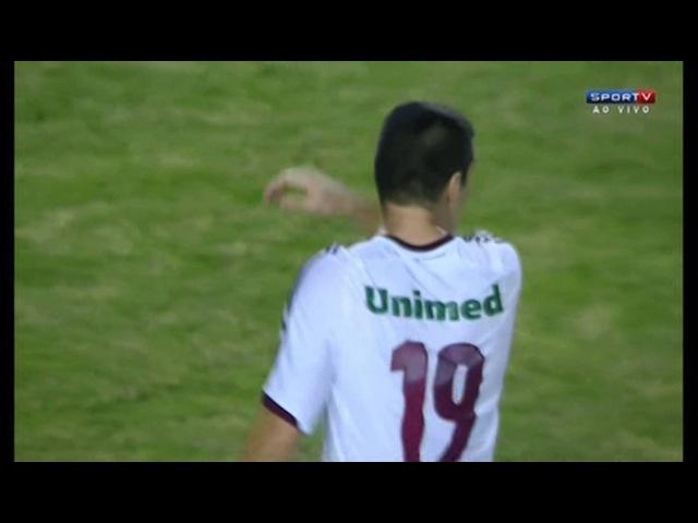 [HD] GOLAÇO de WAGNER - Emelec 2x1 Fluminense - Oitavas-de-final Libertadores2013