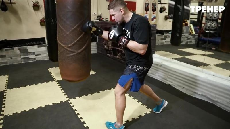 2 важные комбинации боксера с ударом по корпусу @partner_sport