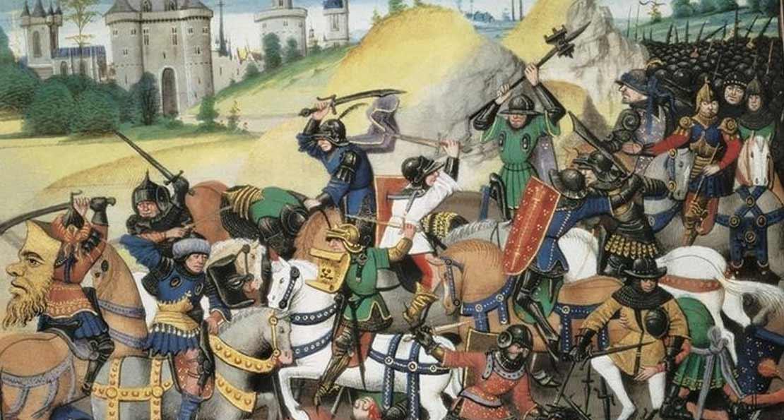 Бой с византийцами