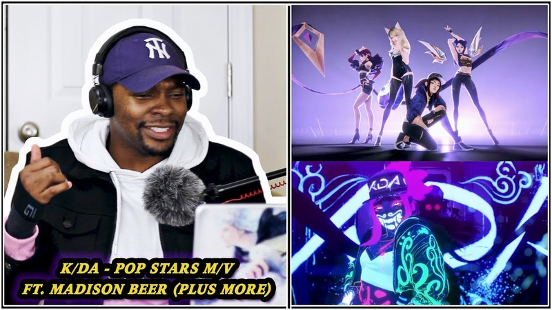 Reaction K DA POP STARS @ Reaction by Jamal Haki R R