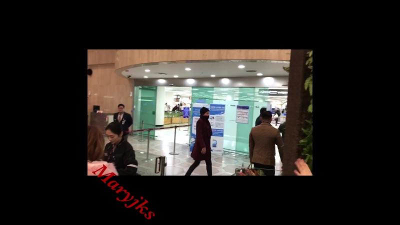 Asia prince Jang Keun Suk departure from gimpo international airport for Osaka 16⁄01⁄2018