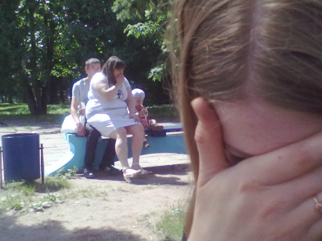 Толстая девушка и худой парень 4 фотография
