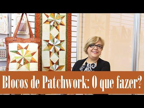 O que Fazer com o Bloco de Patch   Ana Cosentino   Patchwork Sem Segredos 39