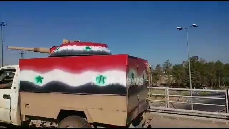 Силы Тигра направляют колонны тяжёлой техники на юг Сирии