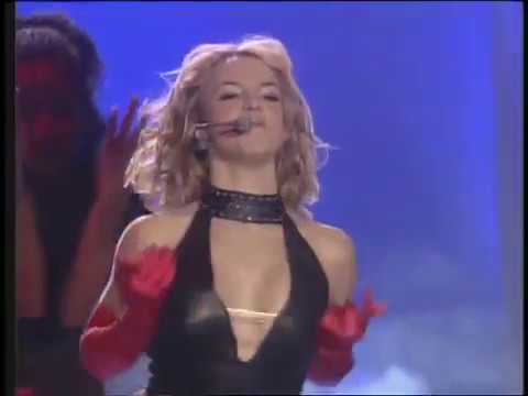 Britney Spears One More Time Crazy Medley MTV EMA 1999