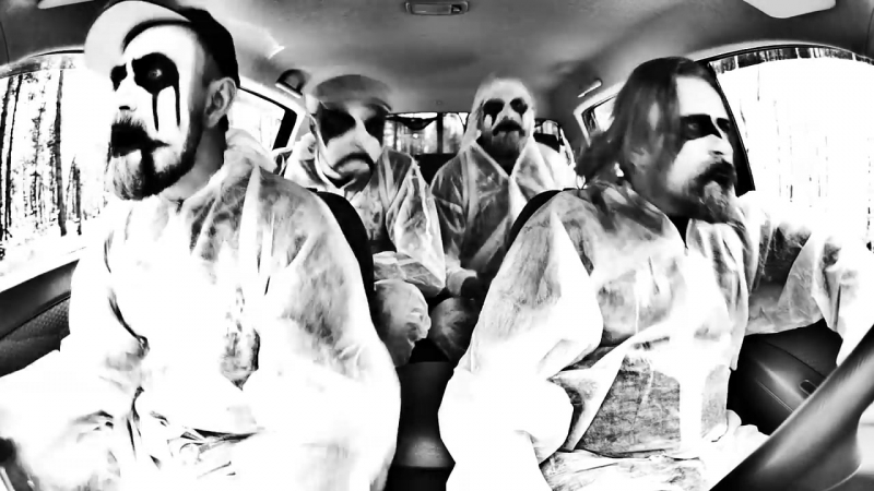 URATSAKIDOGI Гитары Чёрных Металлистов BlackHop Genocide