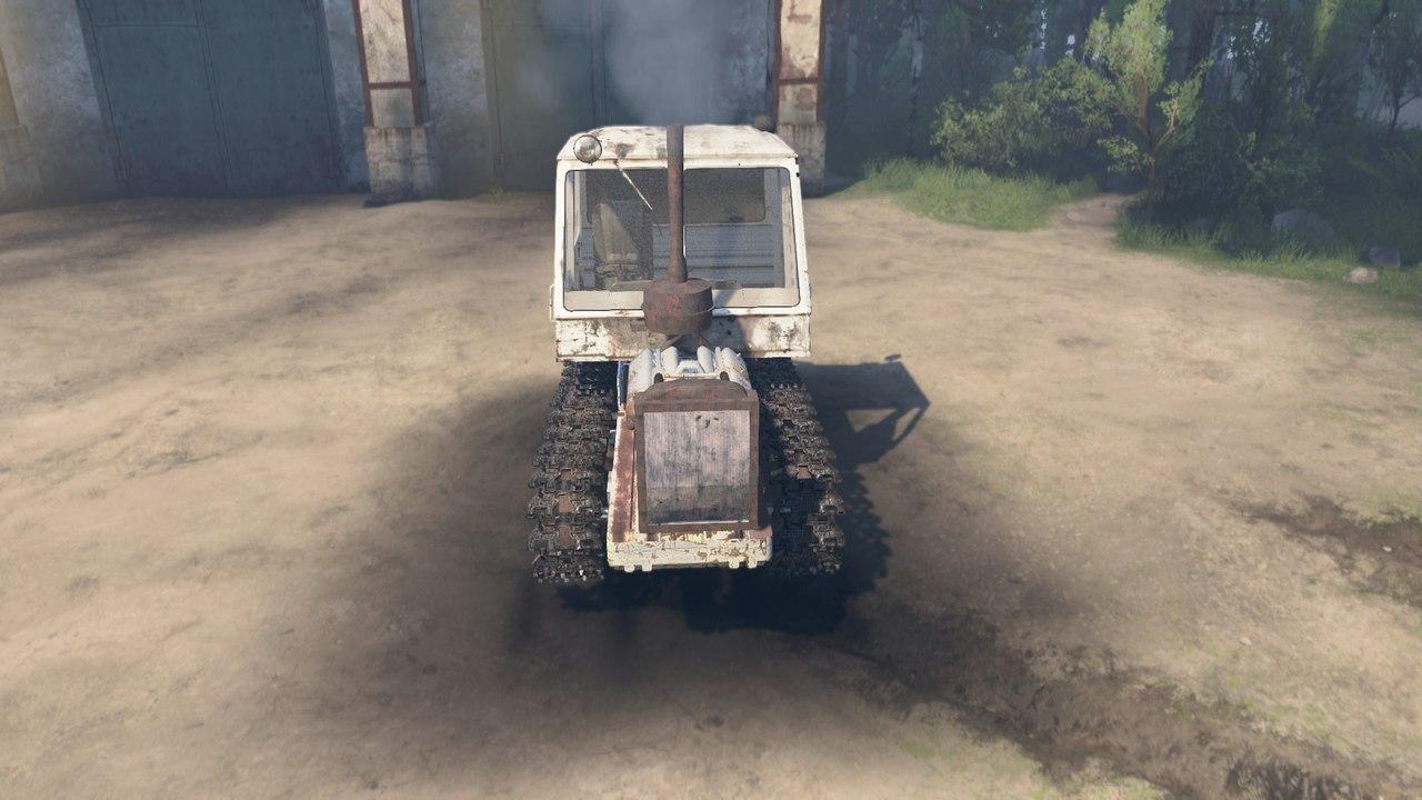 Гусеничный трактор Т-150 для 03.03.16 для Spintires - Скриншот 1