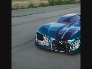 Take a look at this vision of 2035' concept sports car complete with passenger cocoons and a coffee machine - - Watch more from