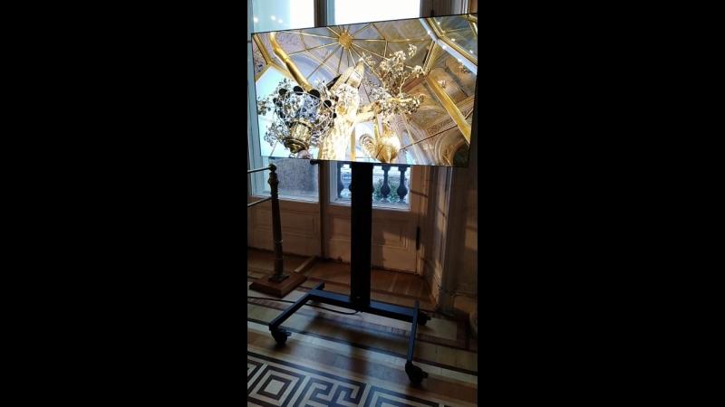 Часы из чистого золота(эрмитаж)