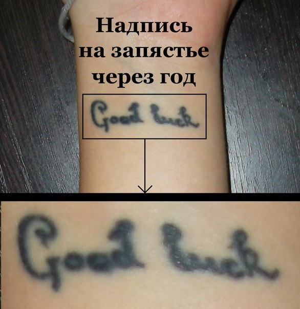 тату у девушек надписи на руке фото