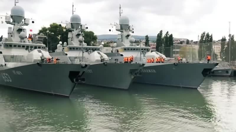 Боевые корабли, вошедшие в состав ВМФ России с 2018 по 2000 год.