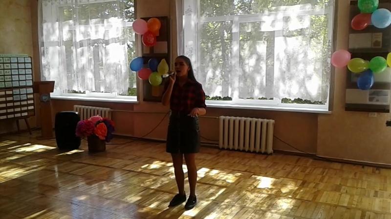 Выступление Алины Гусаренко - Капельки дождя