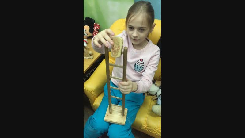 Трудное детство деревянные игрушки