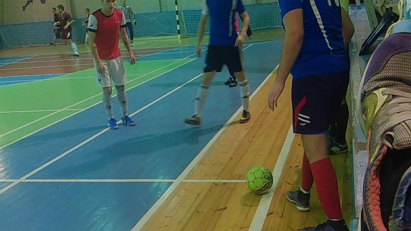 ФК «Кедр» - ФК «Шторм» - 2 тайм