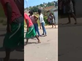 girl fight in South africa fight public place