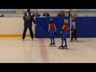 Александр ЛАПТЕВ-1 место в полуфинале  26.01.2014 г. 3 круга. Соревнования по шорт-треку