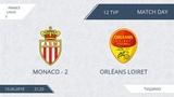 AFL18. France. Ligue 2. Group A. Day 12. Monaco - 2 - Orleans Loiret