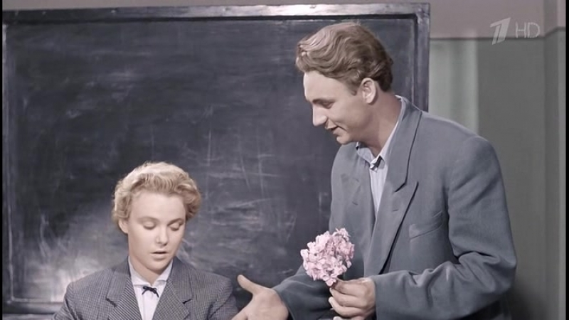 Весна на Заречной улице, мелодрама, СССР, 1956